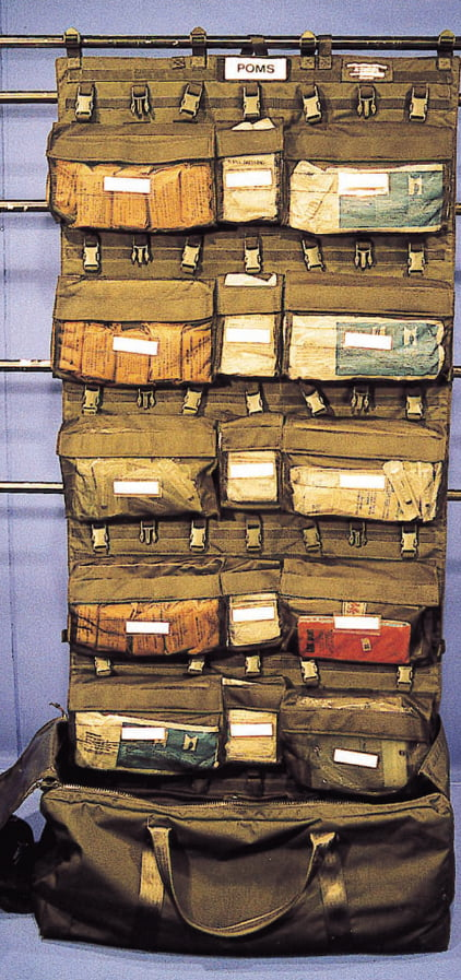 1/4 Portable Organised Medical Systems (POMS/2000)